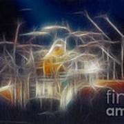 Van Halen-ou812-d32a-fractal Poster