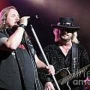 Van Zant - Johnny With Donnie Poster