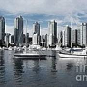 Vancouver Harbour  Poster