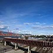 Vancouver Shipyards Poster