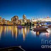 Vancouver Skyline - By Sabine Edrissi Poster