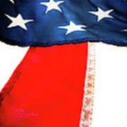 Variations On Old Glory No.1 Poster by John Pagliuca