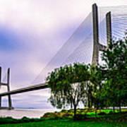 Vasco Da Gama Bridge I Poster