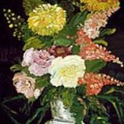 Vase Of Flowers, 1886 Poster