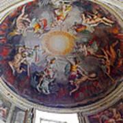Vatican Ceiling Fresco 1 Poster