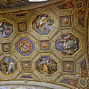 Vatican Ceiling Fresco 2 Poster