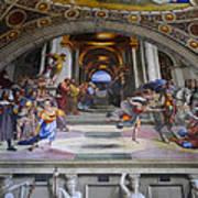 Vatican Fresco 4 Poster