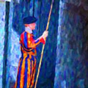 Vatican Swiss Guard Poster