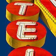 Vegas Motel Color Poster