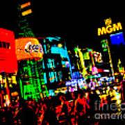 Vegas Lights Poster