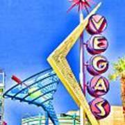 Vegas Street Art Poster