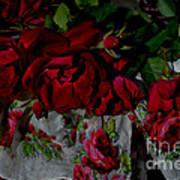 Red Velvet Roses Poster