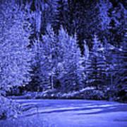 Velvet Winter - Vail - Colorado Poster