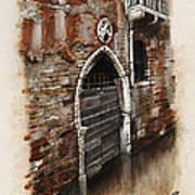 Venetian Door 03 Elena Yakubovich Poster