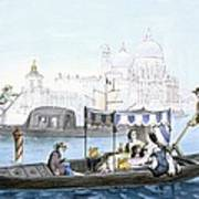 Venetian Gondola, From Vedute Dei Poster