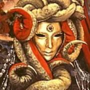 Venetian Mystery Mask Poster