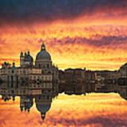 Venetian Reflections Poster