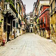 Venetian Street Poster