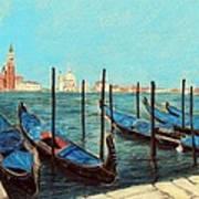 Venice Poster by Anastasiya Malakhova