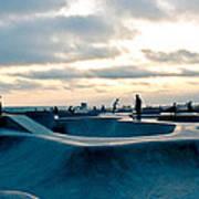 Venice Beach Skate Park Poster