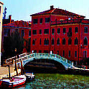 Venice Bow Bridge Poster