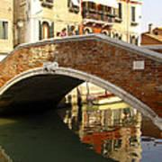 Venice Bridge Poster