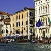 Venice Buildings Poster