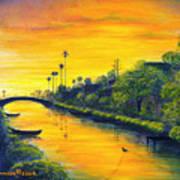 Venice California Canal Poster