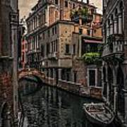Venice Canal 8 Poster