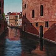 Venice Canal Poster by Darice Machel McGuire