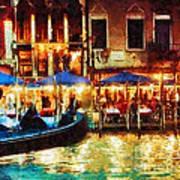 Venice Glow Poster