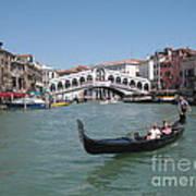 Venice Gondolier Poster