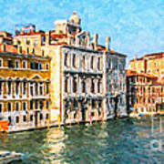 Venice - Grand Canal Poster