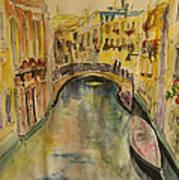 Venice I. Poster by Paula Steffensen