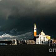Venice Island Saint Giorgio Maggiore Poster