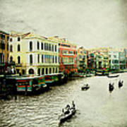 Venice Italy Magical City Poster