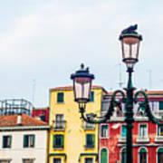 Venice Lamp Poster by Luis Alvarenga