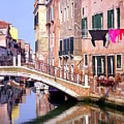 Venice Living Poster