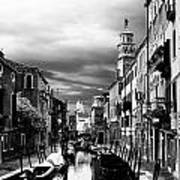 Venice Side Canal Poster