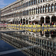 Venice Italy - St Mark's Square Symmetry Poster