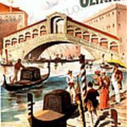 Venice Vintage Poster Poster