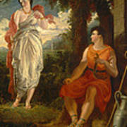 Venus And Anchises Poster