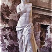 Venus De Milo - Louvre Poster