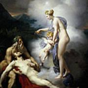 Venus Healing Aeneas Poster