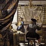 Vermeer, Johannes 1632-1675. The Poster by Everett