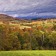 Vermont Colors Poster