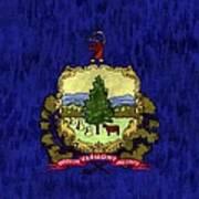 Vermont Flag Poster