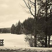 Vermont Winterland Poster