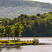 Vermonts Lake Fairlee Poster