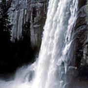 Vernal Falls Profile Poster